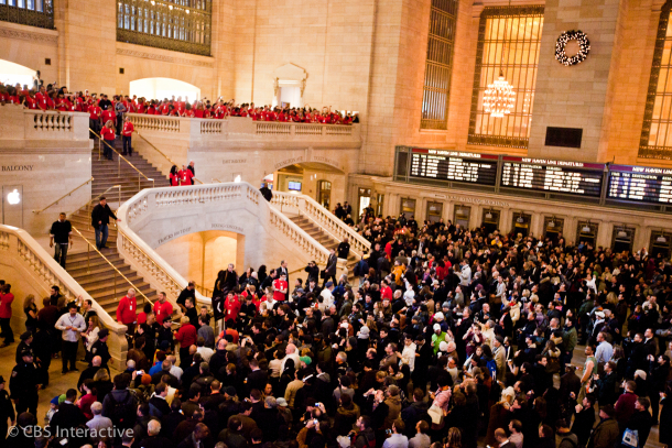 Opening of Grand Central Station