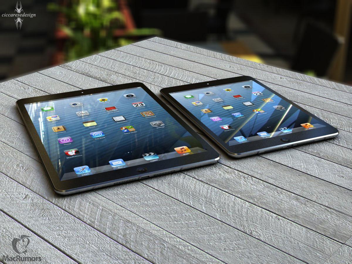Redesigned iPad to match iPad Mini