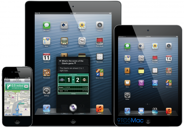 Rumoured iPad Mini concept