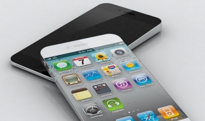 Rumoured iPhone 5 Mockup Design