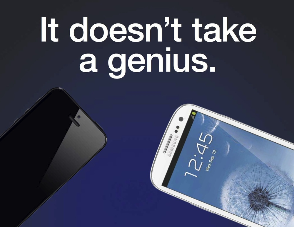Samsung Anti Apple Ad Feature