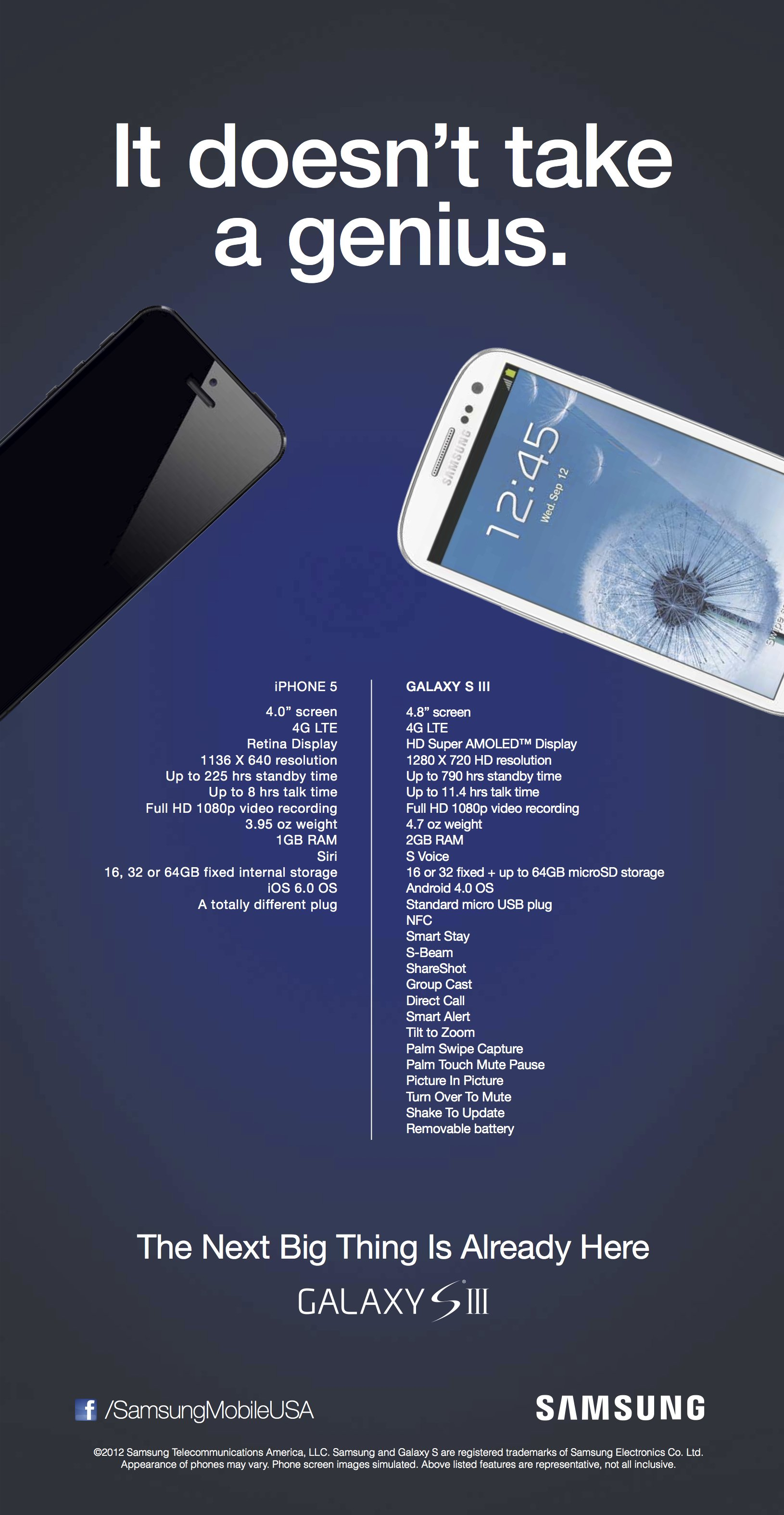 Samsung Anti Apple Ad