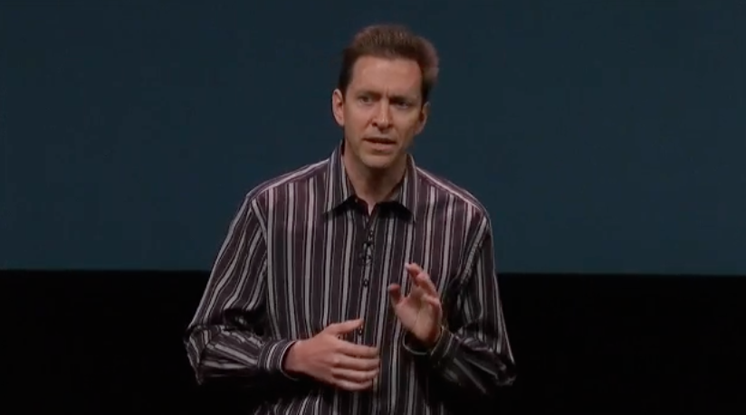 Scot Forstall at iPhone 5 Keynote