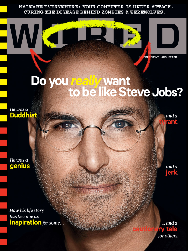 Steve Jobs Cover Wired Magazine