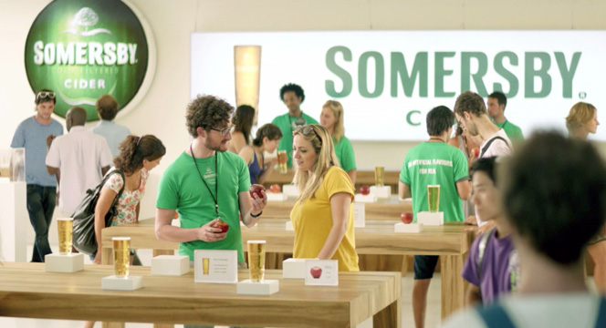 The Somersby Store (Apple Store)