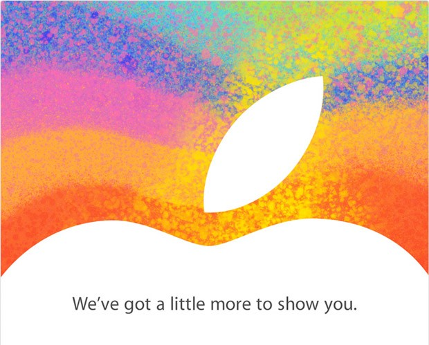 apple media event invite for Oct 23 for iPad mini
