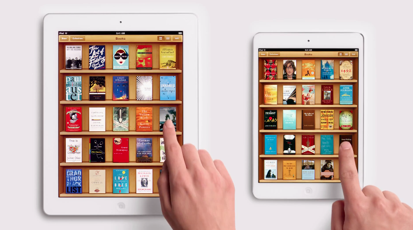 iPad Mini with iBooks