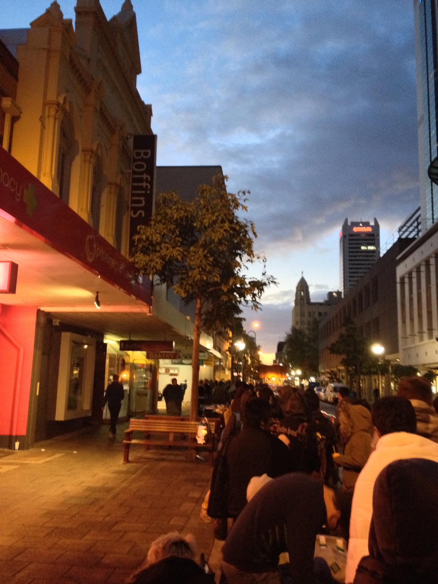iPhone 5 Launch Apple Store Perth Night 02