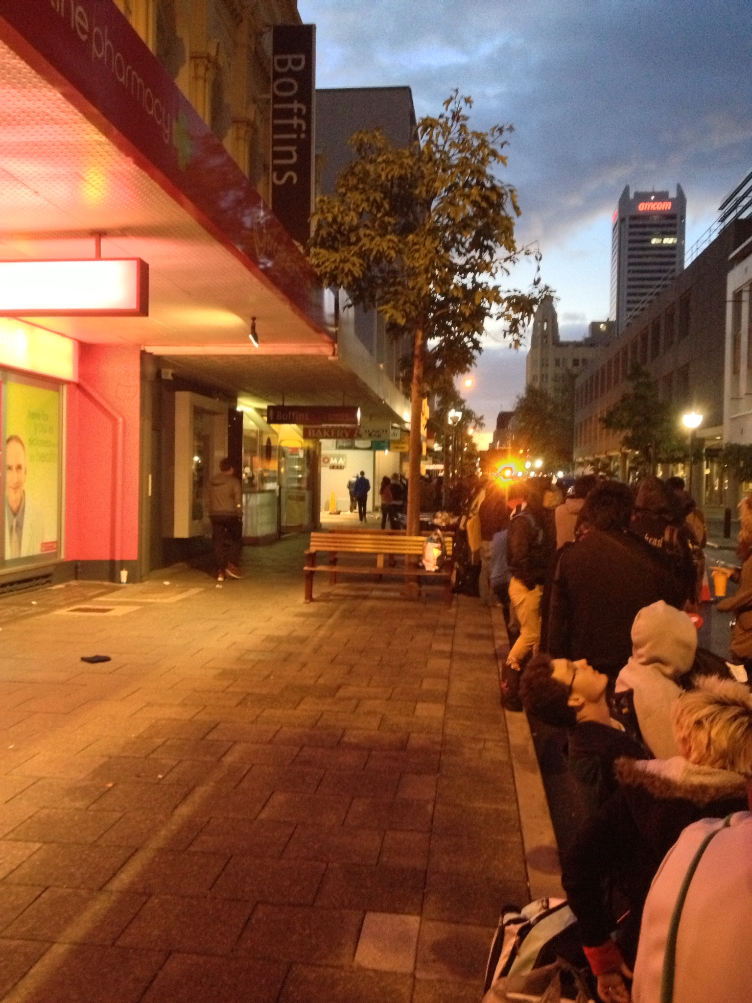 iPhone 5 Launch Apple Store Perth Night 03