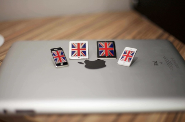 iPhone and iPad London Olympic Pins