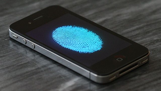 iPhone with Fingerprint Scanner