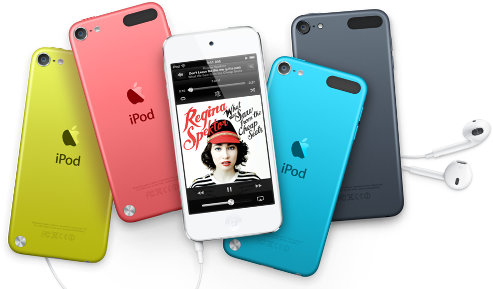 iPod Touch in Colour