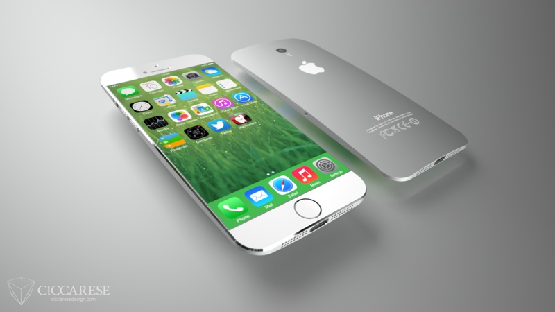 iPhone6 Concept 55 inch Screen