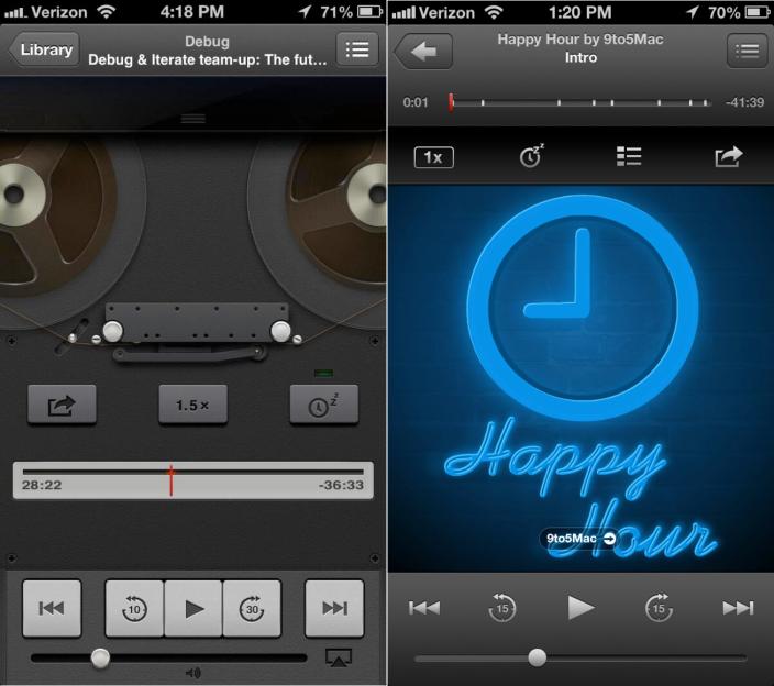 iOS 7 Flatter Design