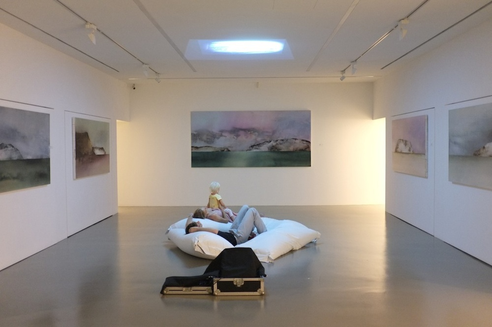 Silence on a Milk Mountain  , exhibition view