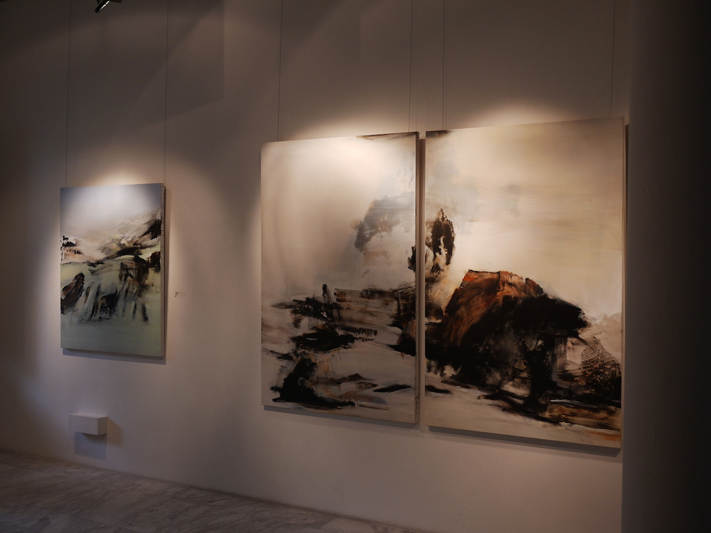 The Weight of Water  , exhibition view