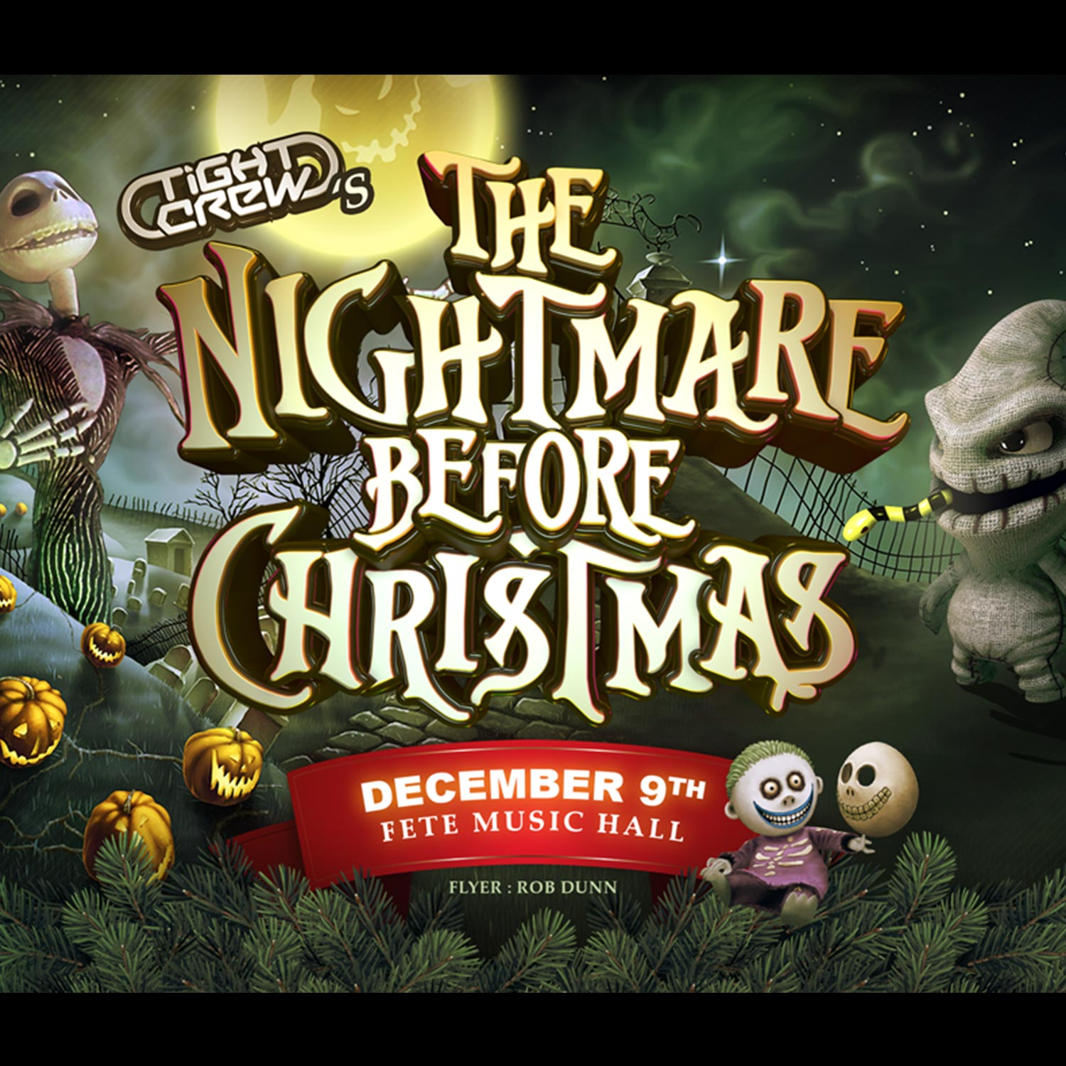 The Nightmare Before Christmas — Fête Music Hall