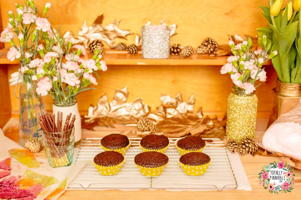 totally pinnable bonfire cake cupcakes chocolate