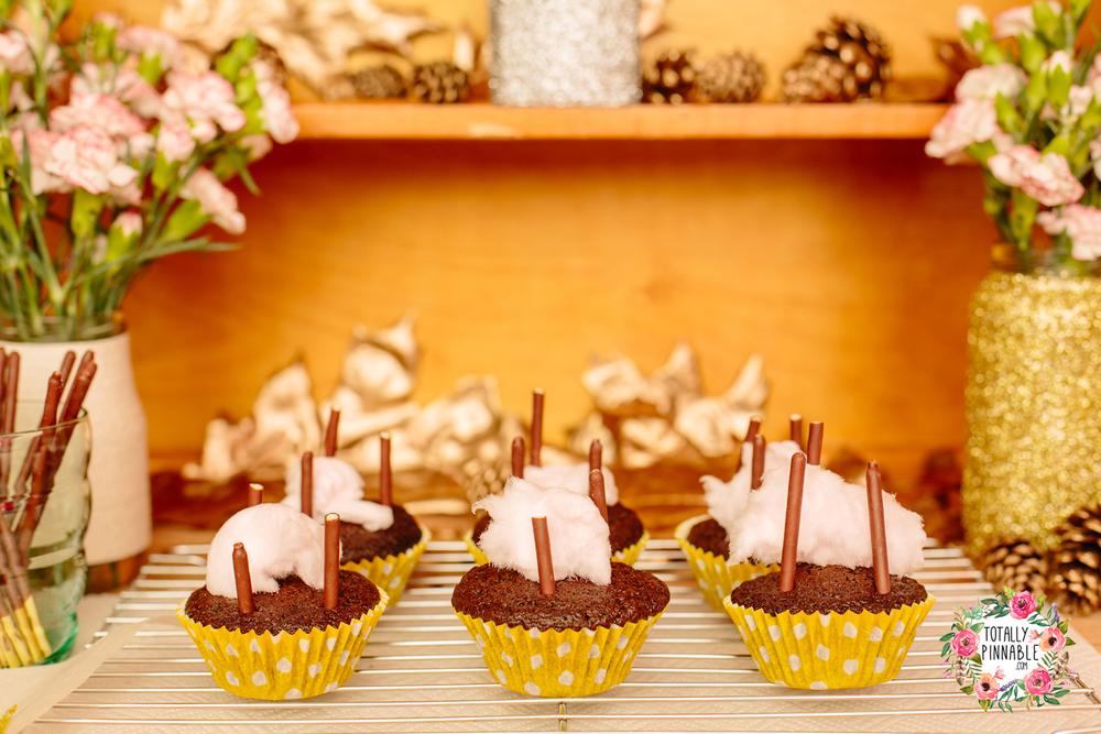 totally pinnable.com bonfire cakes candy floss sticks