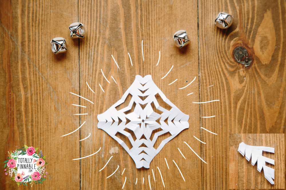 www.totallypinnable.com DIY paper snowflakes