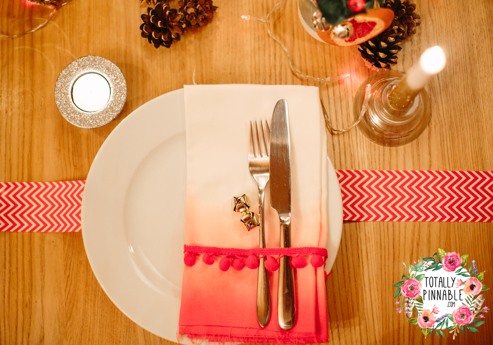 www.totallypinnable.com DIY Christmas Table