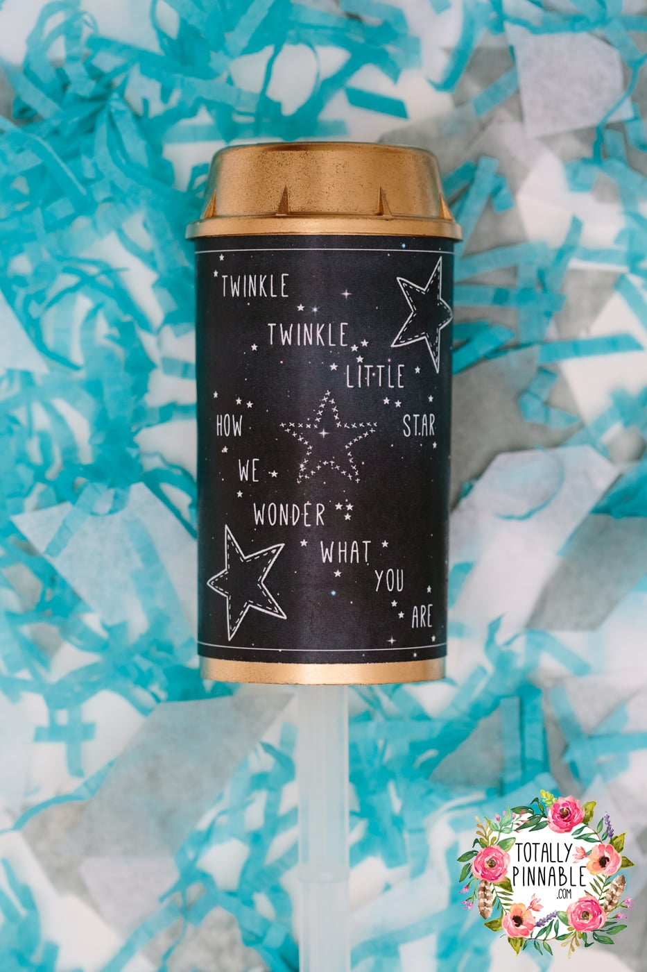 www.totallypinnable.com gender reveal confetti pop available to buy now