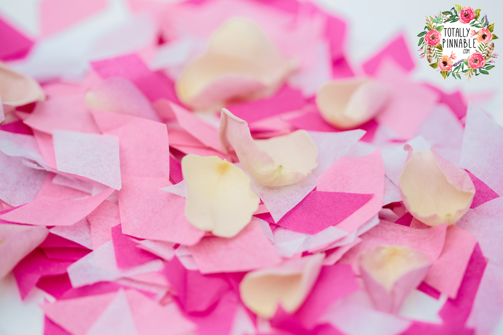 totallypinnable.com confetti pop packs for your wedding