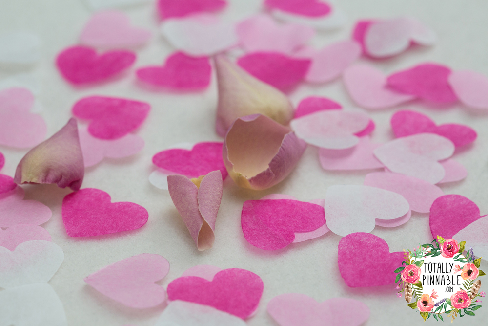 www.totallypinnable.com Will You Be My Maid Of Honour? confetti filled envelope. Eco friendly, hand made and biodegradable.