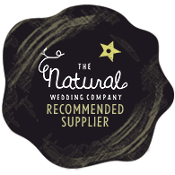 www.totallypinnable.com proud to be a recommended supplier for The Natural Wedding Company! YAY!