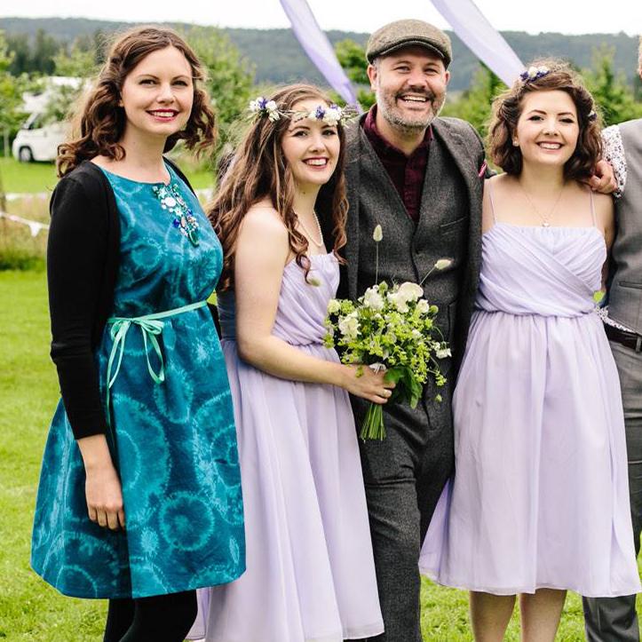 www.totallypinnable.com shibori dyed dress wedding guest