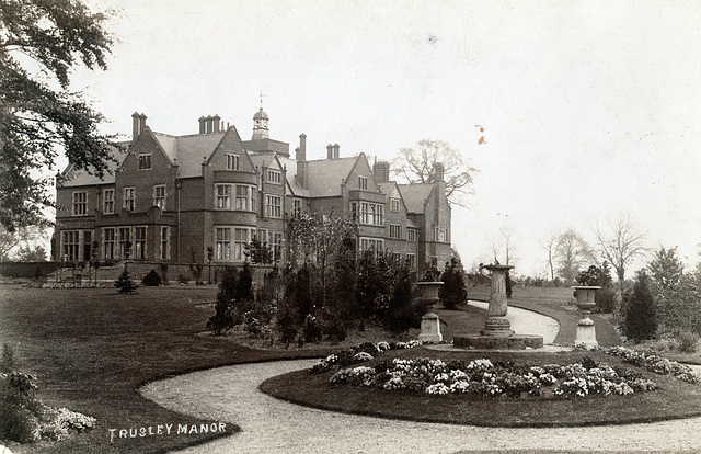 Trusley Manor as originally built