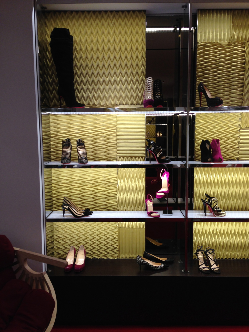 ABBY COCHRAN  INTERIOR DESIGN FOR CHRISTIAN LOUBOUTIN