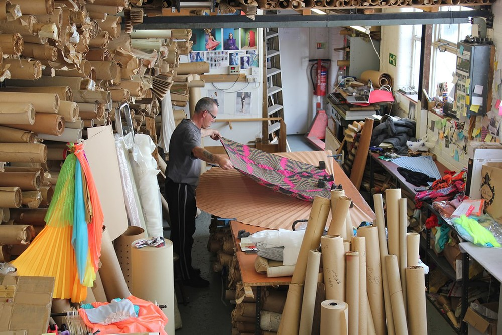 We supply to fashion designers,interior designers, dressmakers, fashion colleges, milliners, film and theatre