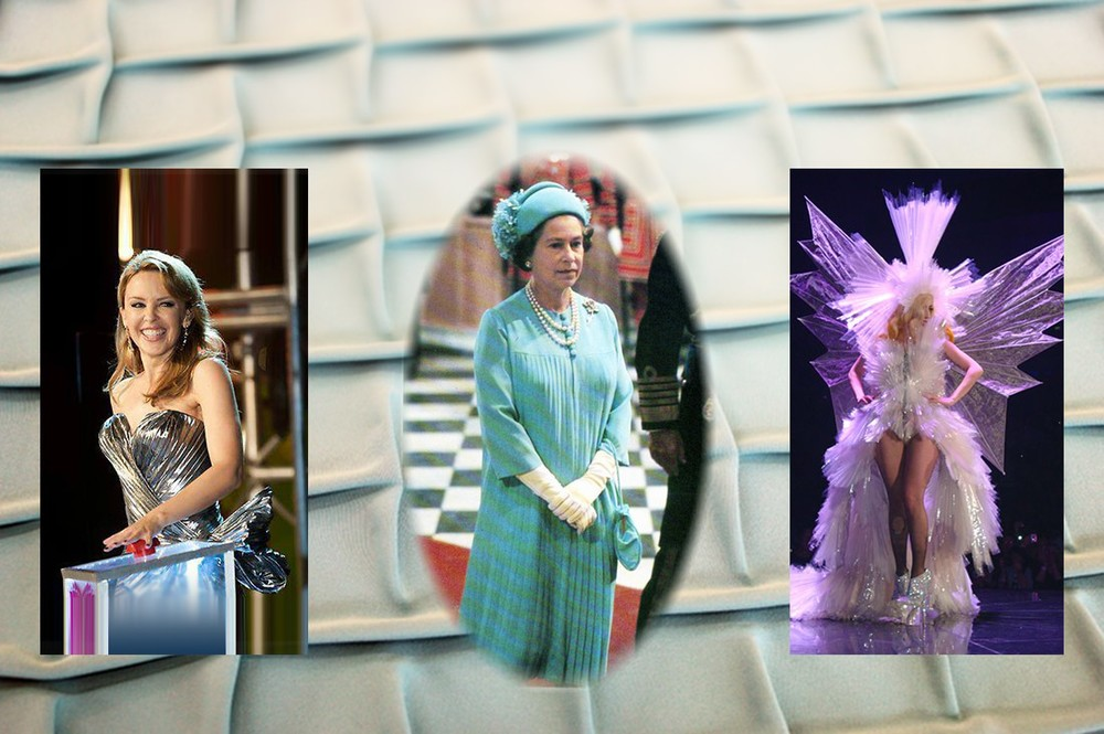 Our commissions include pleating for Queen Elizabeth, Kylie Minogue, Lady Gaga and the Harry Potter films