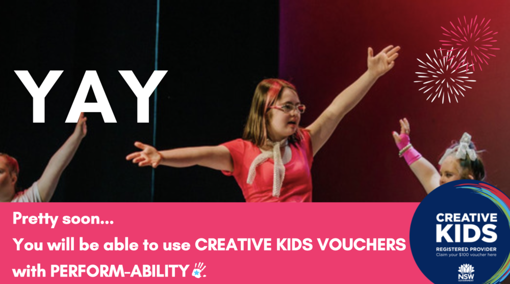 Creative Kids - Very soon, we will be accepting Creative Kids Vouchers. Stay tuned!