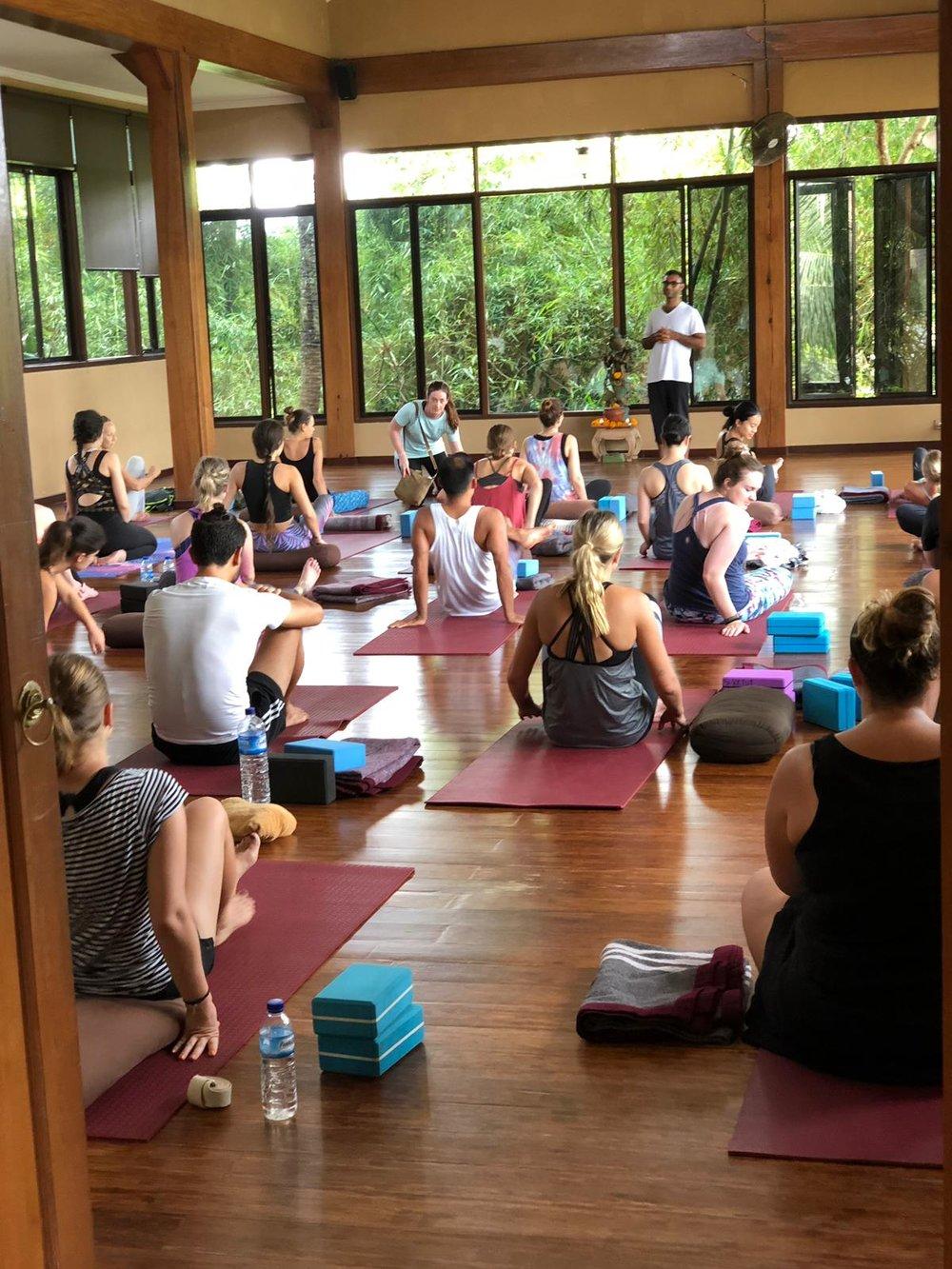 Amit's Yoga Class