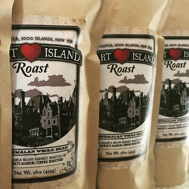 Heart Island Roast headed to Boldt Castle for the big weekend !