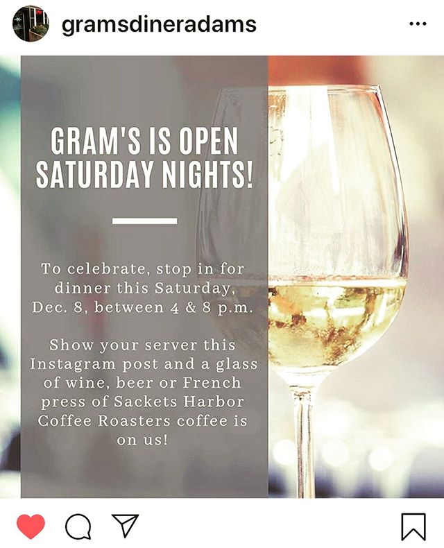 We love our friends at Gram's !