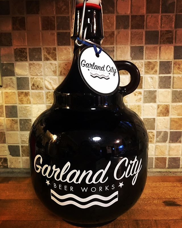 Oh my goodness it's delicious !  Garland City Beer Works Coffeen Street Stout made with our coffee!  We are so happy!