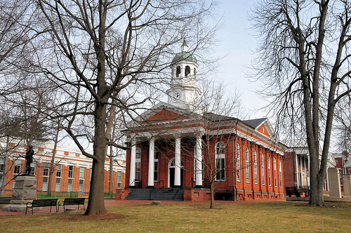 Historic Courthouse in Leesburg, Virginia