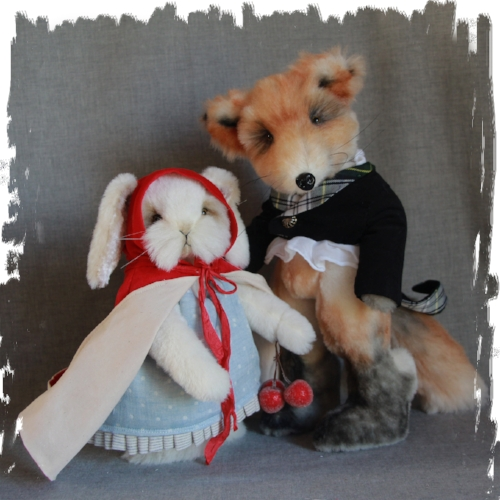 Bunny Red Riding Hood and the Mysterious Mr Fox