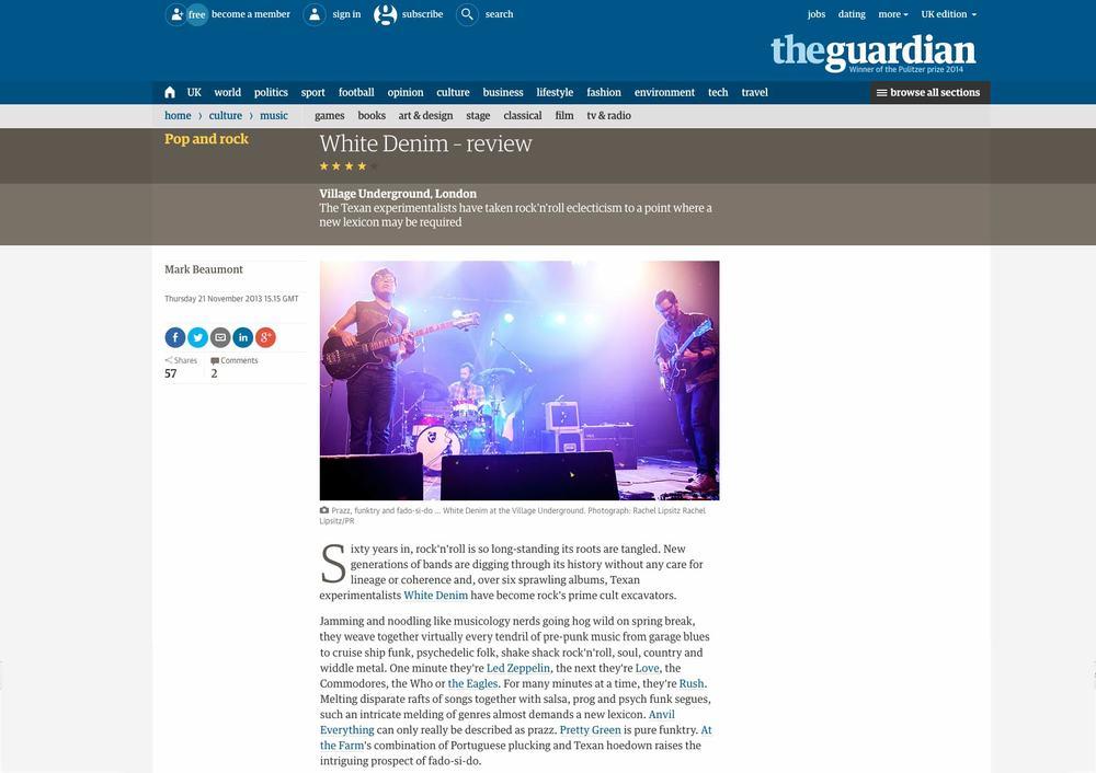 White Denim - The Guardian