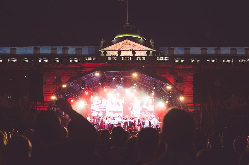Belle and Sebastian at Somerset House