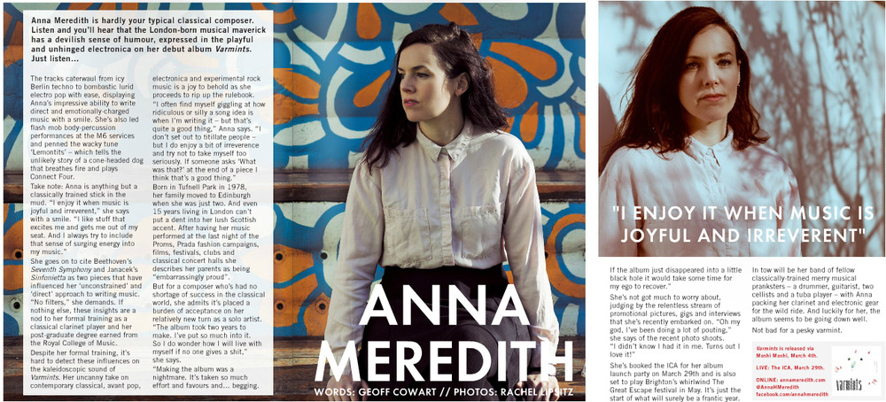 Anna Meredith for London in Stereo