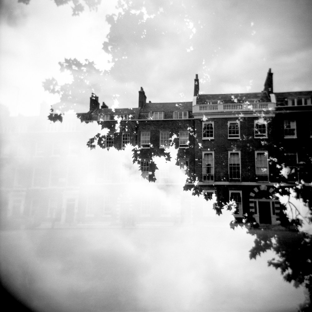 London double exposure