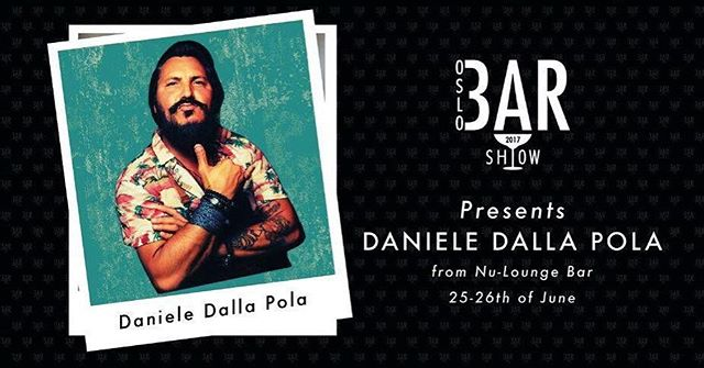 There is no summer without TIKI - end of discussion. And who better to bring some lovely TIKI magic to Oslo Bar Show then the king of TIKI - Maestro Daniele Dalla Pola. #oslobarshow #oslobarshow2017 #tiki #bacardi #nuloungebar