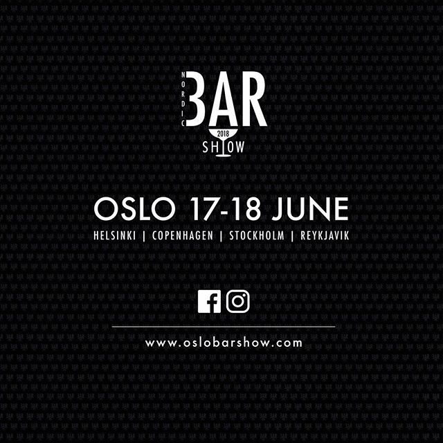 """Another year - another show. This time we are moving away from our """"regular"""" weekend to make sure that our neighbours in Sweden and Finland can celebrate Midsummer without thinking about any Bar Show the same weekend. The dates will be 17th and 18th - and it will be located in the heart of Oslo this time. Less travel and more time for fun!"""