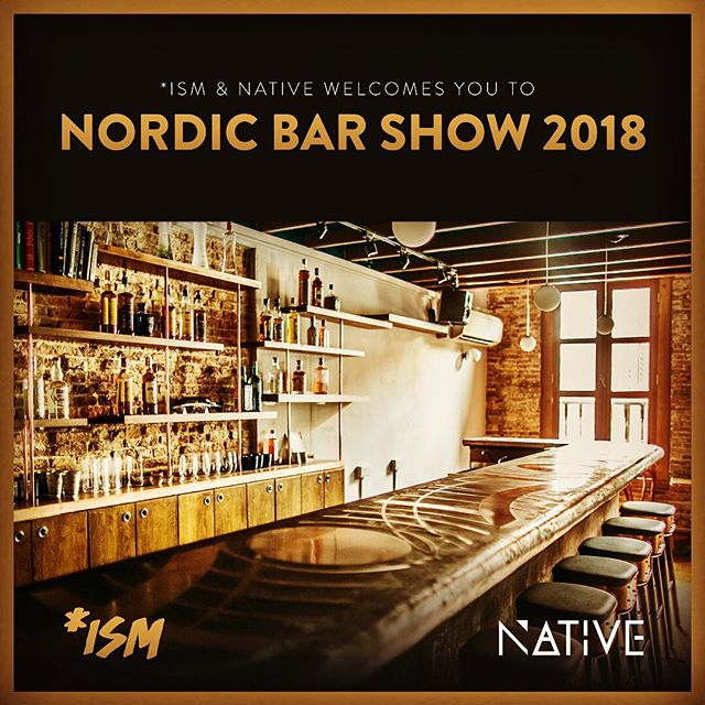 @ism_oslo had to make some fun for the night before Nordic Bar Show 2018 starts - so they are very excited to have @nativebarsg @vijaymgp from Singapore behind the bar with them on Saturday 16th of June. Lets get ready to rumble! #ismoslo #nordicbarshow2018