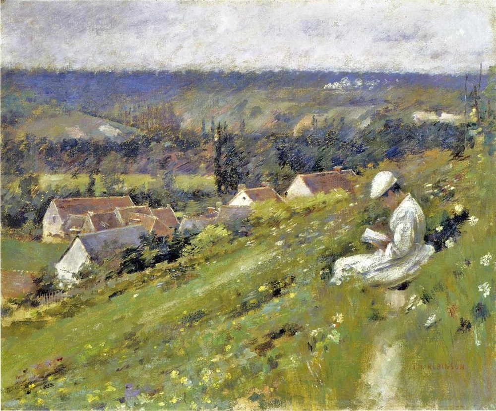 Theodore Robinson -  Val D'Arconville
