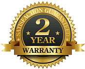 All work done is protected by our 2 year warranty.